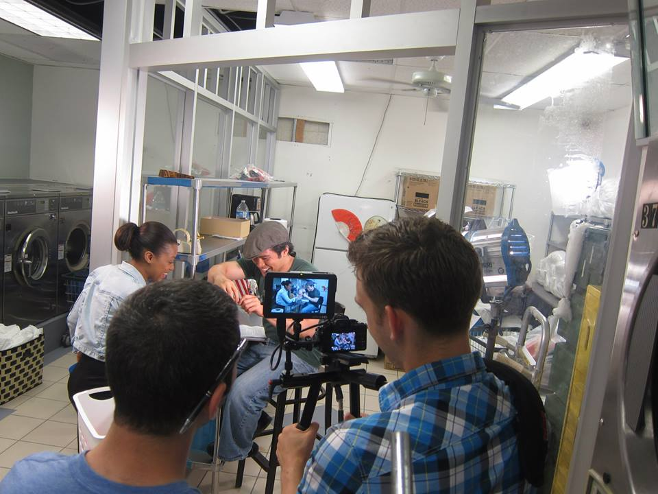 josh and jeff on set